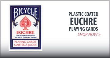 Euchre and pinochle cards
